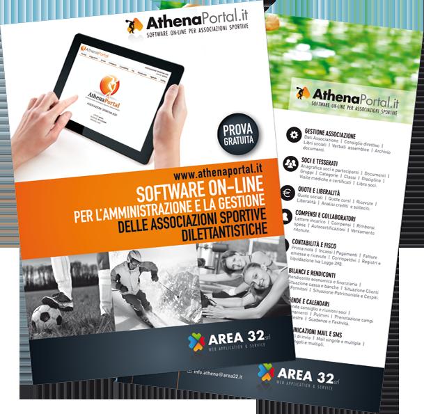 Athena portal software gestionale contabile per lo sport